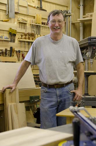 Alan Bourgault Furniture Maker